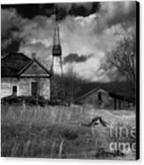 Old Georgia Farm Canvas Print
