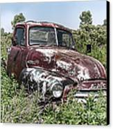Old Gmc Truck Canvas Print by Olivier Le Queinec