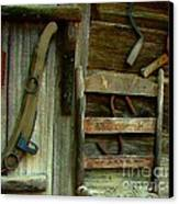 Old Hanging Ladderback Canvas Print