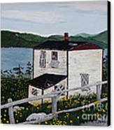 Old House - If Walls Could Talk Canvas Print