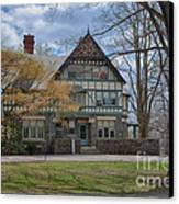 Old House On Haverford Campus Canvas Print by Kay Pickens