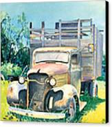 Old Kula Truck Canvas Print