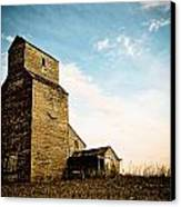 Old Lepine Elevator Canvas Print by Gerald Murray Photography