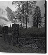 Old Liberty Park Ruins In Spokane Washington Canvas Print