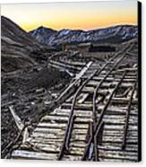 Old Mining Tracks Canvas Print