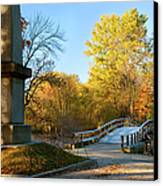 Old North Bridge Canvas Print by Brian Jannsen