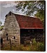 Old Oak Barn Canvas Print by Marty Koch
