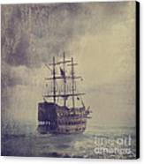Old Pirate Ship Canvas Print