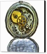Old Pocket Watch Canvas Print by Michal Boubin