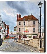 Old Portsmouth Canvas Print by Trevor Wintle