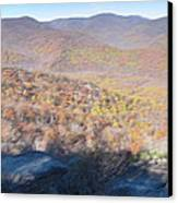Old Rag Hiking Trail - 121231 Canvas Print by DC Photographer