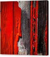 Old Red Barn One Canvas Print