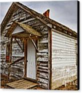 Old Rustic Rural Country Farm House Canvas Print