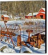 Old School Canvas Print by Bill Wakeley