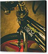 Old School Cool Bmx - 1 Canvas Print by Jamian Stayt