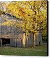 Old Tobacco Barn Canvas Print by Brian Jannsen