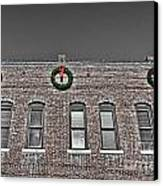 Old Town Christmas Canvas Print by Baywest Imaging