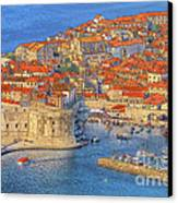 Old Town Dubrovnik Canvas Print