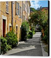 Old Town Of Valbonne France  Canvas Print by Christine Till
