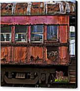 Old Train Car Canvas Print