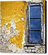 Old Wall In Serbia Canvas Print by Elena Elisseeva