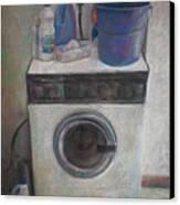 Old Washing Machine Canvas Print by Paez  ANTONIO