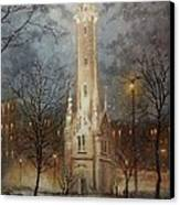Old Water Tower Milwaukee Canvas Print