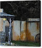 Old West Ghost Town Canvas Print by Kelly Rader