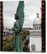 Olde Montreal Angel Canvas Print by Alice Gipson