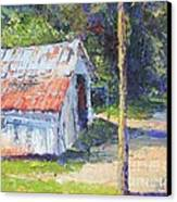 Olde Shed Canvas Print