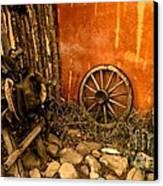 Olden Days Canvas Print by Claudette Bujold-Poirier