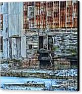 Oldmill Canvas Print by Tamera James