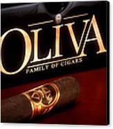Oliva Cigar Still Life Canvas Print