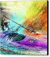 Olympics Canoe Slalom 03 Canvas Print
