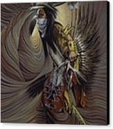On Sacred Ground Series IIl Canvas Print