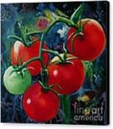 On The Vine II Canvas Print by Lorraine Fenlon