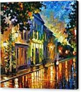 On The Way To Morning Canvas Print by Leonid Afremov