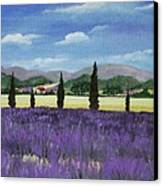 On The Way To Roussillon Canvas Print by Anastasiya Malakhova