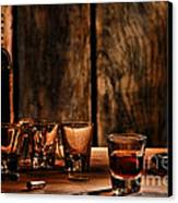 One Last Drink Canvas Print by Olivier Le Queinec