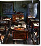 One Room School House Canvas Print by Bob Christopher