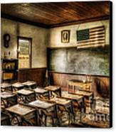 One Room School Canvas Print by Lois Bryan