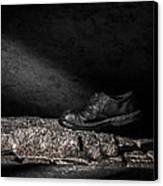 One Step Canvas Print by Bob Orsillo