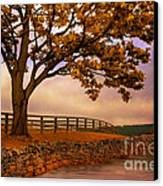 One Tree Hill Canvas Print by Lois Bryan