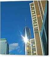 One World Trade Center Canvas Print by Dan Sproul
