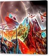 Oniric - 1 Canvas Print by Bernard MICHEL