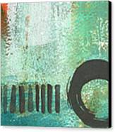 Open Gate- Contemporary Abstract Painting Canvas Print