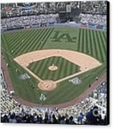 Opening Day Upper Deck Canvas Print by Chris Tarpening