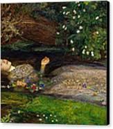 Ophelia  Canvas Print by John Everett Millais