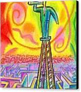 Opportunity Canvas Print by Leon Zernitsky
