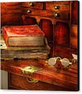 Optometrist - Glasses - The Secretary Canvas Print